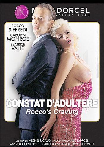 Постер:Marc Dorcel - Констатация супружеской измены / Constat d'adultere / Rocco's Cravings (1992) DVDRip